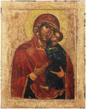 Icon of the Most Holy Theotokos of Tolga - BTL621