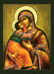 Icon of the Most Holy Theotokos of Vladimir - BV12