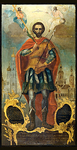 Icon: Holy Martyr St. John the Warrior - IV01