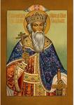 Icon: Holy Equal-to-the-Apostle Great Prince Vladimir - KV42