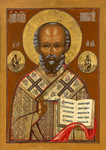 Icon: St. Nicholas the Wonderworker - NCH34