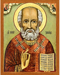Icon: St. Nicholas the Wonderworker - NCH53