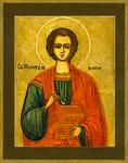 Icon: Holy Great Martyr and Healer Panteleimon - P01