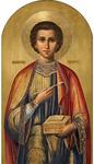 Icon: Holy Great Martyr and Healer Panteleimon - P39