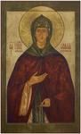 Icon: Holy Venerable Eurosinia of Souzdal' - PSS39