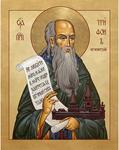 Icon: Holy Venerable Tryphon of Pechenga - PTP37