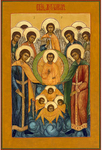 Icon: Synaxis of the Holy Archangel Michael - SAM50