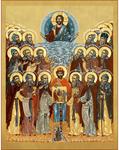 Icon: Synaxis of the Kola Saints - SKS37