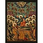 Icon: Dormition of the Most Holy Theotokos - U731