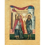 Icon: Conception of St. John the Baptist - ZPR67