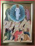 Icon: Transfiguration of the Lord - AN (11.8''x15.7'' (30x40 cm))