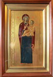 Icon of the Most Holy Theotokos Hodogitria - AN (6.5''x11.0'' (16.5x28 cm))