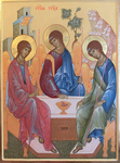 Icon: Holy Trinity - AN (28.3''x36.2'' (72x92 cm))