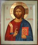 Icon: Christ Pantocrator - O4