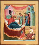 Icon: Nativity of the Most Holy Theotokos - O