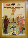 Icon: Crucifixion of the Lord - O
