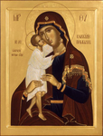 Icon: Most Holy Theotokos the Seeker of the Lost - O