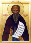 Icon: Holy Venerable Pachomius of Nerekhta - O