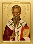 Icon: Holy Hierarch Andrew of Crete - O