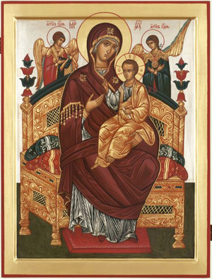 Icon: Most Holy Theotokos the Queen of All - O