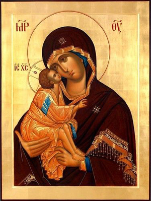 Icon: Most Holy Theotokos of Vladimir - O6