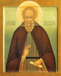 Icon - Holy Venerable Demetrius of Prilutsk - I2