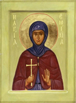 Icon - Holy Martyr Emilia - O