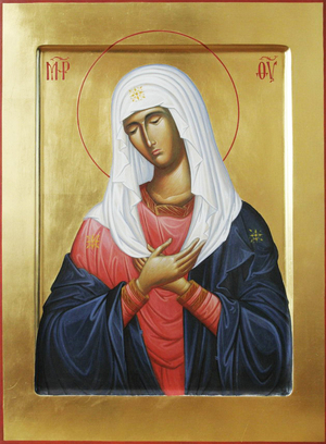 Icon: Most Holy Theotokos Eleusa - O3