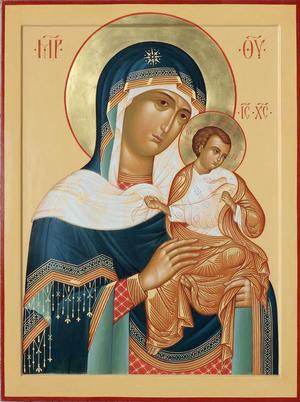Icon: Most Holy Theotokos of Goloubitsy - O