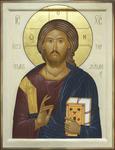 Icon: Christ Pantocrator- O9