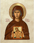Icon: Holy Venerable Parasceva of Serbia - PS45