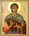 Icon: Holy Martyr Mercurios of Smolensk - O