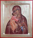 Icon: Most Holy Theotokos of Vladimir - O