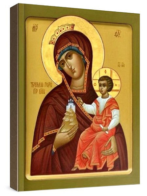 Icon: Most Holy Theotokos of the Rich Mountain - S2