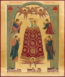 Icon: Most Holy Theotokos the Addition of Mind - O2