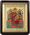 Religious icons: the Most Holy Theotokos the Queen of All - 2