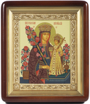 Religious icons: the Most Holy Theotokos the Unfading Flower - 1