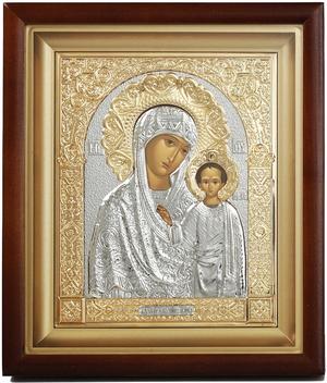 Religious icons: the Most Holy Theotokos of Kazan - 6