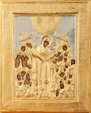 Religious icons: the Most Holy Theotokos the Joy of All Who Sorrow - 1
