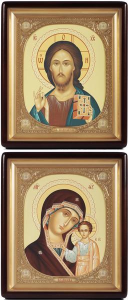 Religious icons: Wedding icon pair - 360-361