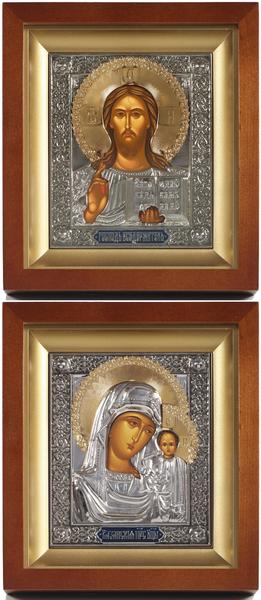 Religious icons: Wedding icon pair - 78-79