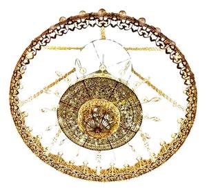 Two-layer church chandelier (horos) - Vernyj (56 lights)