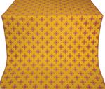 Bishop silk (rayon brocade) (yellow/gold/red)