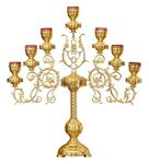 Table seven-branch candelabrum no.628