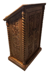 Carved lectern - S1