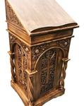 Carved church lectern - U8