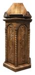 Carved church kliros lectern - U10