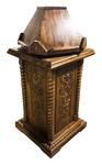 Carved church kliros lectern - U11