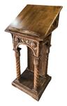 Carved church lectern - U14