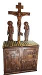Carved memorial table - U1